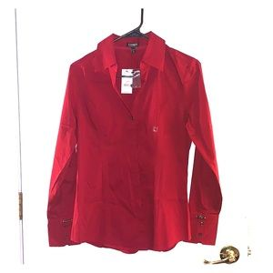 Express button down shirt Size M